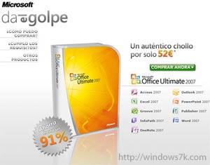 Windows 7 gratis en España