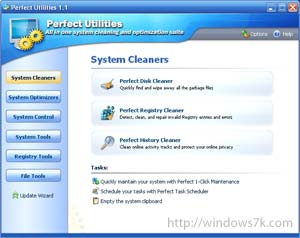 Perfect Utilities para Windows 7